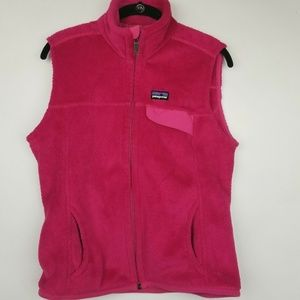 Patagonia SZ M pink Re Tool Zipper Vest